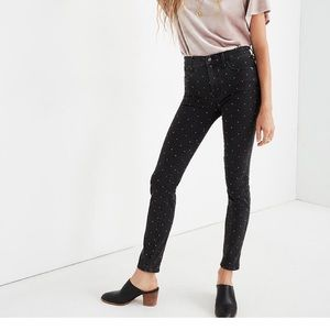 """Madewell 10"""" High-Rise Skinny Jeans size 31"""